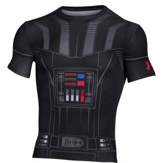 Mens HeatGear Vadar Compression Shirt