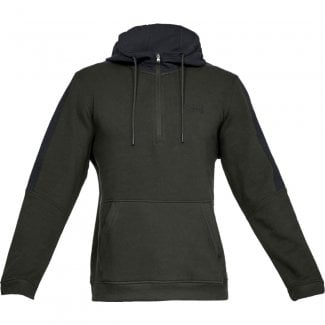 Mens Microthread Fleece 1/2 Zip