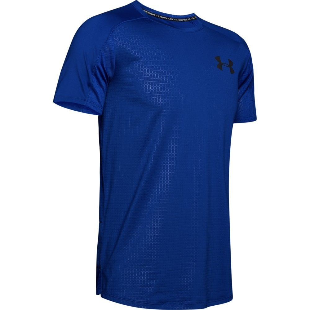Under Armour Men's Heatgear Short Sleeve Graphic T-Shirt Royal