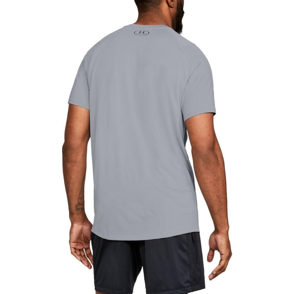 b7d0ddee Under Armour Mens MK-1 Logo Graphic Short Sleeve T-Shirt