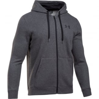 Mens Rival Fleece Fitted Full Zip Hoodie