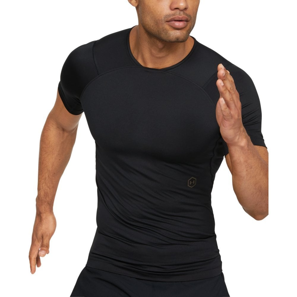 a5ae8ef5eb10 Under Armour Mens RUSH Compression Short Sleeve T-Shirt - Under ...