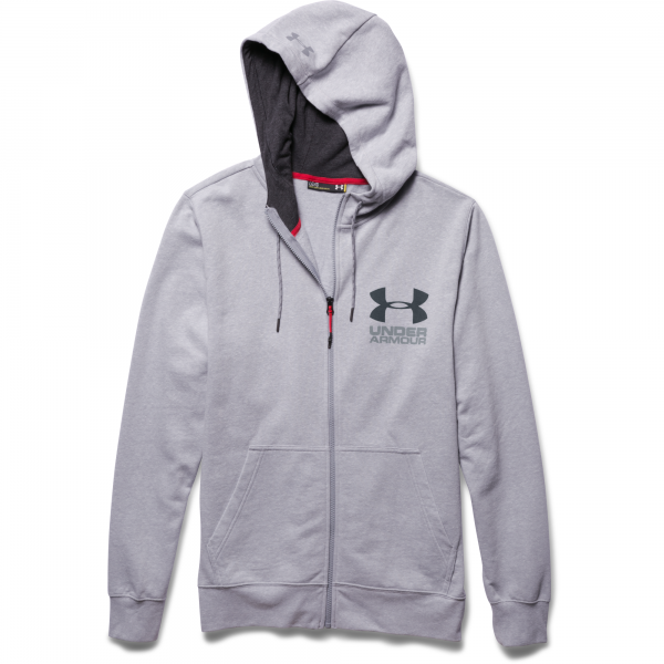Under Armour Mens Tri-Blend Full-Zip Hoody