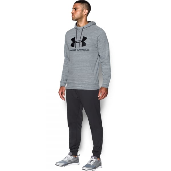 Under Armour Mens Triblend Sportstyle Logo Hoodie