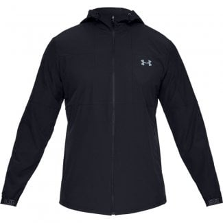 Mens Vanish Woven Full-Zip Jacket