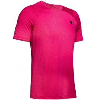 RUSH HeatGear Mens Fitted Printed T-Shirt
