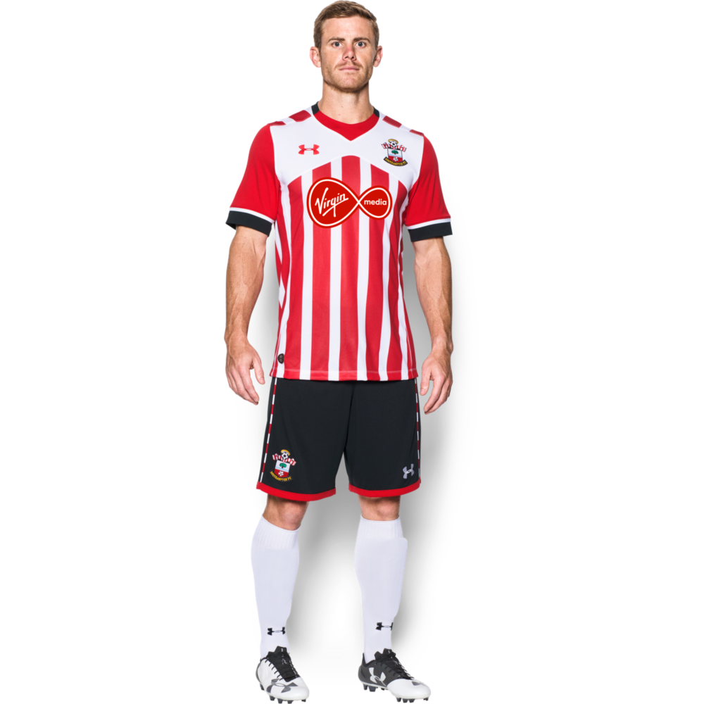 the latest 9c76c c950a Under Armour Southampton Home Junior Short Sleeve Jersey 2016/2017