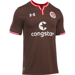 St Pauli Home Mens Short Sleeve Jersey 2016/2017