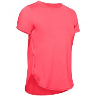 Womens Armour Sport Crossback Short Sleeve T-Shirt