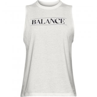 Womens Balance Graphic Muscle Tank