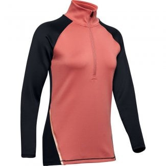 Womens ColdGear 1/2 Zip Color Block