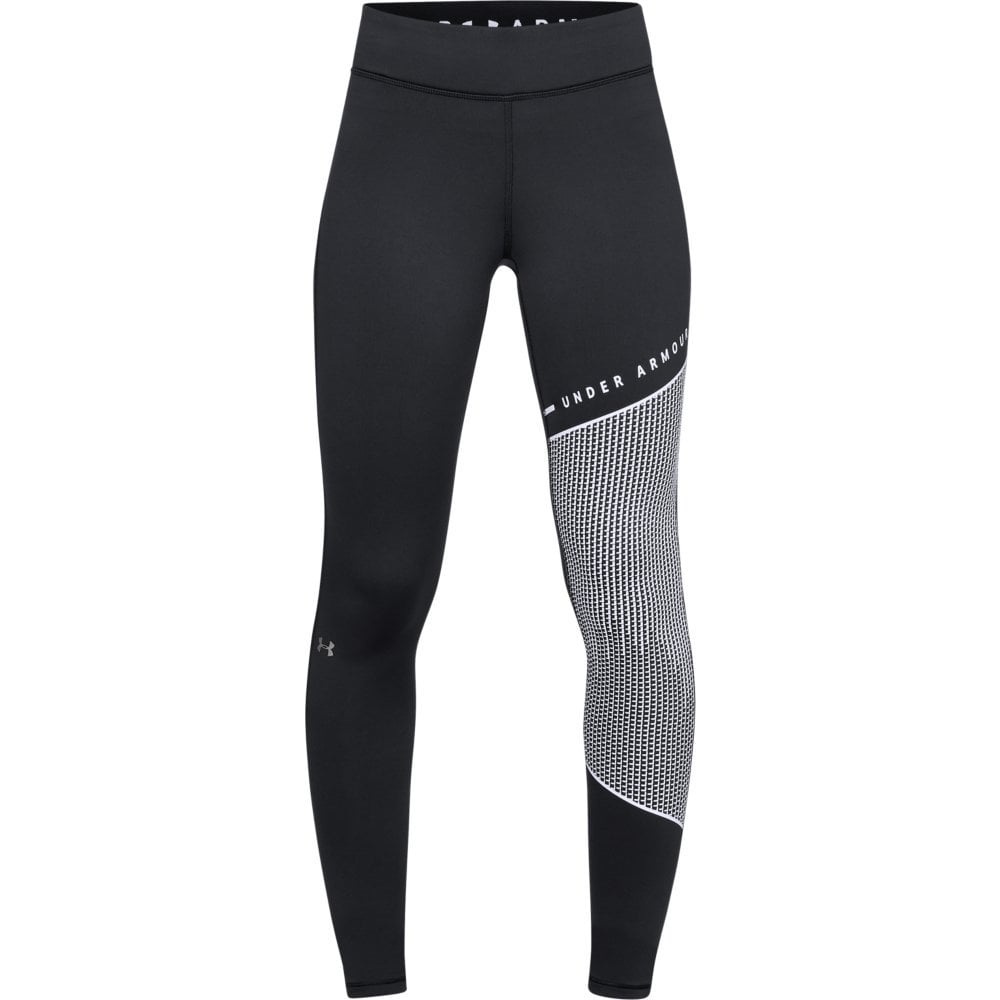 5bfa27dec30052 Under Armour Womens ColdGear Armour Block Graphic Leggings - Under Armour  from Excell Sports UK
