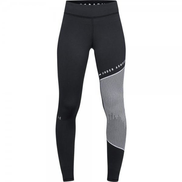 Under Armour Womens ColdGear Armour Block Graphic Leggings
