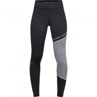 Womens ColdGear Armour Block Graphic Leggings