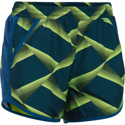 Womens Fly-By Printed Run Short