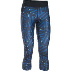 Womens HeatGear Armour Printed Capri