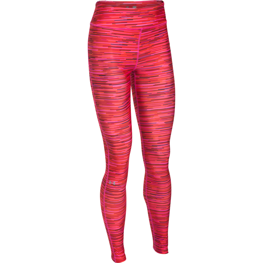 aaa70df2 Under Armour Women's HeatGear Armour Printed Legging in Pink | Excell  Sports UK