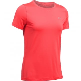 Womens HeatGear Armour Short Sleeve Tee