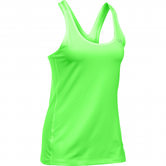 Womens HeatGear Armour Stripe Racer Tank