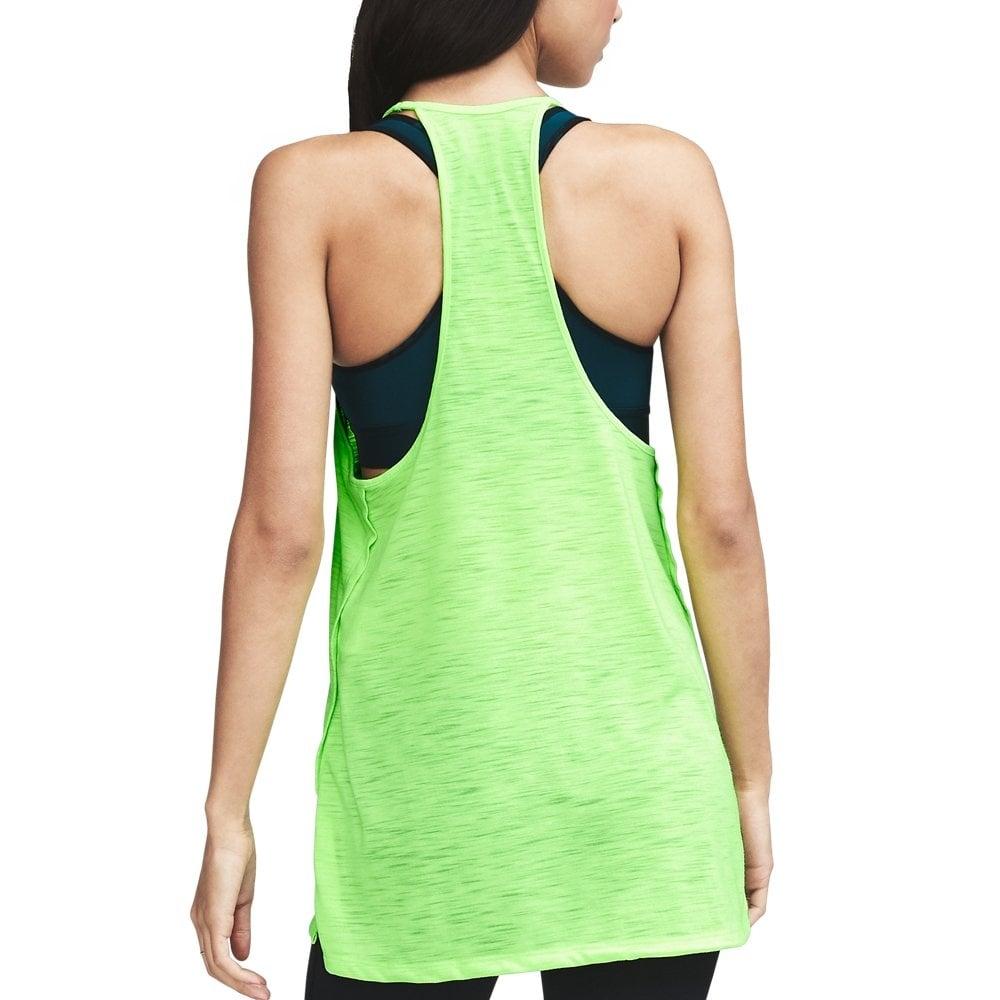 Under Armour Womens Threadborne Fashion Tank in Lime  5b233698af